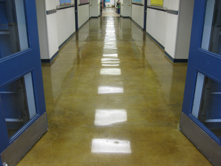 Are concrete floors right for your school? | Green Journey
