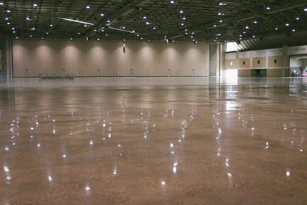 The Hardened, Densified And Polished Floor ...