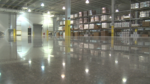 Lovely This Warehouse Floor ...