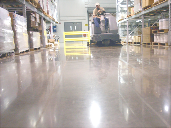 Two wrong ideas about polished concrete floors green journey for What to clean concrete floors with