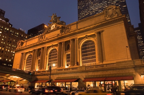 Grand Central Terminal, New York City, turns 100 years old Feb. 13, 2013, and still looks pretty good in this shot from 2007. photo courtesy of MTA/Metro North Railway
