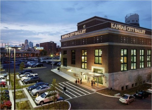 Once housing the power plant for nearby Union Station in Kansas City, Mo., this 1914 Jarvis Hunt-designed building is now the Todd Bolender Center for Dance and Creativity, and houses the Kansas City Ballet. photo courtesy JE Dunn