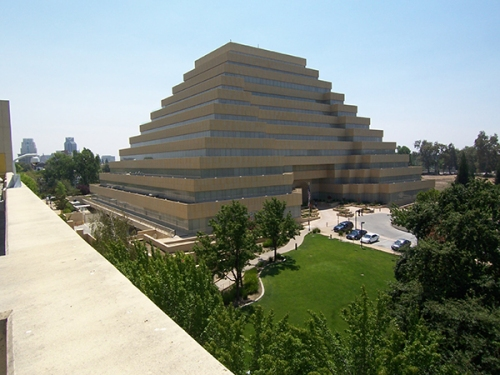 Built in 1997 to resemble ancient Mesopotamian ziggurats, Sacramento, Calif.'s Ziggurat recently got a protective coating of Sure Klean Weather Seal Natural Stone Treatment WB Plus.
