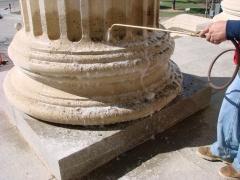 Kansas statehouse masonry restoration