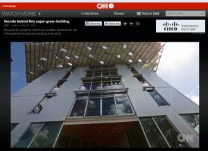 CNN profile the Bullitt Center